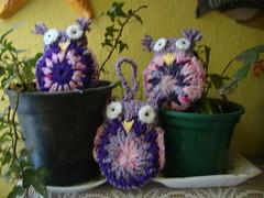 DSC05128 (Artesanato com amor by Lu Guimaraes) Tags: artesanato fuxico trico crochê {vision}:{outdoor}=0703 {vision}:{plant}=0604 byluguimarães