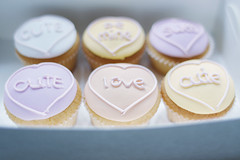 Sweetheart Cupcakes For Valentine's Day (Leighton Wallis) Tags: cute love cake newcastle candy heart sweet australia bakery nsw newsouthwales shape valentinesday bemine loveisintheair {vision}:{food}=0558 {vision}:{outdoor}=0787