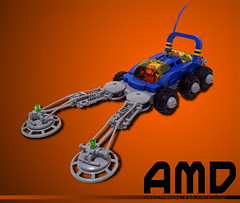 Advanced Mineral Detection Rover (Heiwa71) Tags: classic lego space rover {vision}:{sky}=0782 {vision}:{sunset}=083 {vision}:{outdoor}=0539