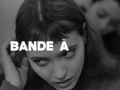 BAND OF OUTSIDERS (Unkee E.) Tags: cinema film typography graphicdesign movies trailers credits titles filmtitles motiongraphics moviecredits movietrailers typeinmotion screentitles