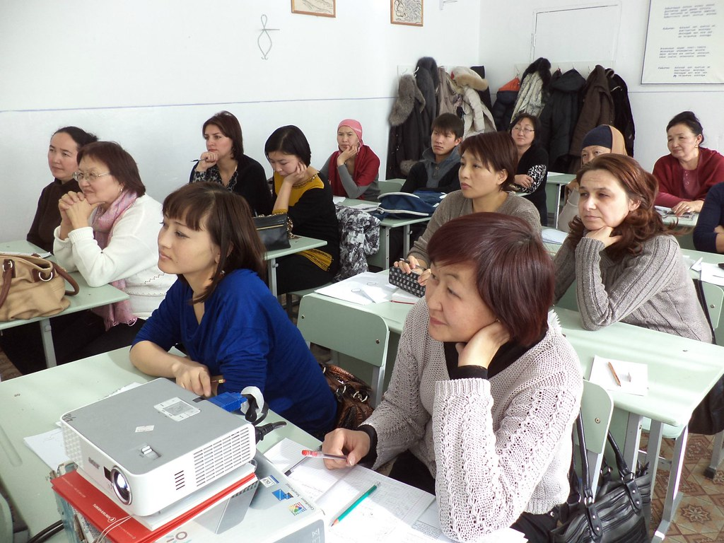 Spence - Writing workshop, Kyrgyzstan