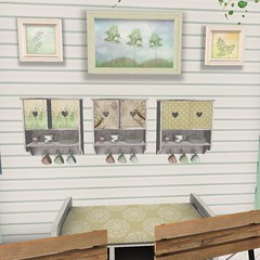 The Feeling Event | Fabuleux Kitchen Cabinets (Hidden Gems in Second Life (Interior Designer)) Tags: home garden design spring cafe interior event feeling decor exclusive the frogstar fabuleux