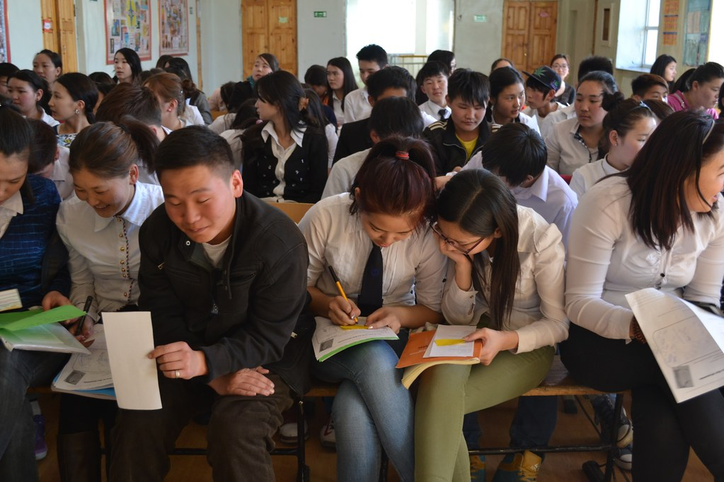 Connor - Mongolia Read Aloud School 19 in Ulaanbaatar, Mongolia