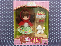 Red Riding (JaneCherie) Tags: red dolls little riding korean hood fairytales mimiworld
