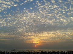 canvas off GOD (Faisal Russel) Tags: sunset sun bayofbangal inthesea