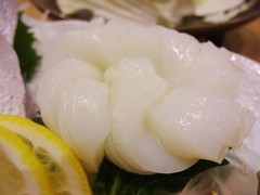 Squid Sashimi @Roku Roku Restaruant, Shanghai (Phreddie) Tags: china food fish dinner japanese restaurant yum shanghai sashimi eat seafood 140405 rokuroku gubei