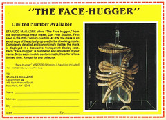 1980 Facehugger mask (Tom Simpson) Tags: alien xenomorph facehugger vintage film movie mask costume halloween 1980 1980s ad ads advertising advertisement vintageads
