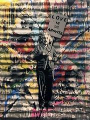 """"""" Einstein: Love is the answer  """" 2016 by Mr. Brainwash / Pop Art  & by the way very soon  one month(april)  will be dedicated to ingeniously Albert Einstein on National Geographic (lalek72.popart) Tags: einstein mrbrainwash artprint popart graffiti loveistheanswer art popartculture fineart streetart subculture popartworld alberteinstein"""