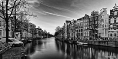 Amsterdam. (alamsterdam) Tags: amsterdam canal keizersgracht longexpoaure architecture