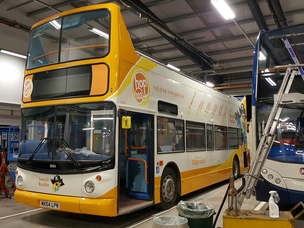 MX54LPN 18186 Matford 220317 (ade torquay) Tags: mx54lpn 18186 stagecoach  devon exeter