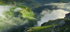 Gudiyalchay gorge (Isr Obvius) Tags: azerbaijan azerbaycan adventure quba guba gorge green climbing cloud clouds canyon rocks landscape landscapes sonyflickraward sonyflickrawardgold panoramic silence colorsinourworld nature panorama sunshine sony sunlights hills hill hiking shadow shadows hd holiday