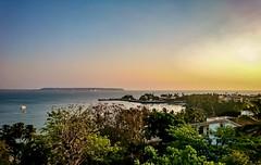 Hůe (Srinivasa Vasu) Tags: flickrtravelaward xperiaxz sea deepbluesea bluesea sun morning hue goa donapaula dawn sunandsea outdoor seasports beach