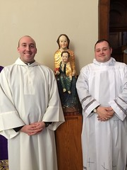 Joseph Petrone and John Hepinger at their Institution as Readers – St. Vincent Seminary – March 2017