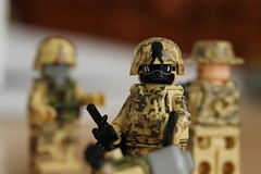 Mop Up (lego slayer) Tags: mop up zombie army military lego legos citizen brick brickarms acu camo helmet undead