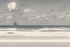 Retrochute (miTsu-llaneous) Tags: trinidad trinidadandtobago beach sea nature landscape seascape beacheslandscapes paraglide parachute ocean waves sand sky clouds nikon d5200 nikkor 70300mm retro vintage