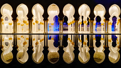 8 x 2 (Karsten Gieselmann) Tags: 714mmf28 abudhabi asien blau em5markii exposurefusion farbe gold licht mzuiko microfourthirds nacht olympus photomatix private reise schwarz sheikhzayedgrandmosque vae black blue color golden kgiesel light m43 mft night travel vereinigtearabischeemirate flickrheroes