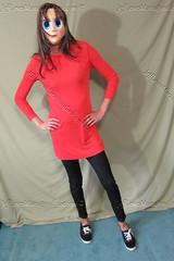 03 (♀♂ gofish5422) Tags: crossdressing crossdressed crossdress crossdresser cd thin skinny trans transvestite transgender tunic denim leggings keds