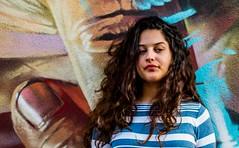(amablecruz1) Tags: street beauty model newjersey graffiti woman jerseycity urban