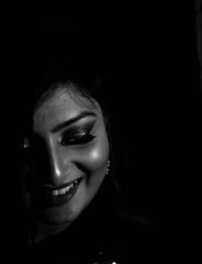 IMG_4723 (Ashique Ridwan) Tags: portrait bw monochromatic girl asian kitlens gorgeous canon lowkey noir romantic evening women hair natural