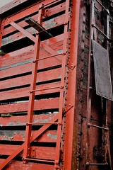 IMG_6705 (joyannmadd) Tags: galvestonrailroadmuseum texas trains railroad tracks traindpot museum historic cars engines memorobilia old sculptures silver diningcar menu plates wheels