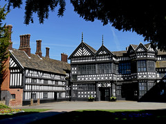 Bramll Hall (HJ in Ches) Tags: bramhall cheshire manorhouse springtim spring halftimbered