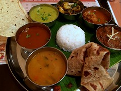 Meals from Ahndra Dhaba @ Kanda (Fuyuhiko) Tags: meals from ahndra dhaba kanda ミール素 インド利用利 ミールス 神田 ダバ アンドラ 南インド料理 south india cusiine tokyo 東京 andhra アーンドラ