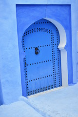 Door (nowresrafid) Tags: chefchaoun door blue urban architecture traditional old oriental africa
