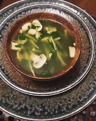 #Spinach #enoki mushroom #soup #dinnertime #foodie #instafoodie #homemadefood (Kim Beckmann) Tags: spinach enoki soup dinnertime foodie instafoodie homemadefood