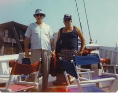 Uncle Ed & Grandpa (nate'sgirl) Tags: jerseyshore seaside boat beach shore vintage retro 80s family veterans