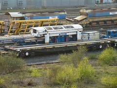 967508 Toton 090417 (Dan86401) Tags: 967508 dc967508 967 yqa parr bogiesleepercarryingwagon wagon freight fishkind db dbcargo engineers departmental infrastructure civilengineer br toton