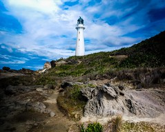 Castle Point Lighthouse (Locomotive-DXC New Zealand) Tags: castle point lighthouse is near village castlepoint wellington region north island new zealand it owned operated by maritime