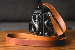Rolleiflex Custom Made Strap (Winfred Kennerknecht) Tags: rolleiflex strap leather rollei custom made custommade cameraporn vintagecamera leathercraft craft sony ilce6000 a6000 sel50f18 alpha winfredkennerknecht winfredkennerknechtphotography wkphotography leatherstrap camerastrap sel50f18s