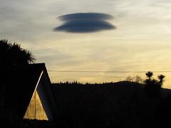Flying Saucer - A Lenticular Cloud (sam2cents) Tags: flyingsaucer cloud lenticular phenomenon sky unusual weird alien fascinating amazing wicklow ireland