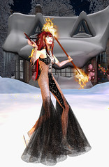 TerraMerhyem_2016_Fire Witch 5 (TerraMerhyem) Tags: fireritual sorcery magic dancer dance extasy shaman shamanism terramerhyem witch wicca beauty merhyem firedance wizardess fire