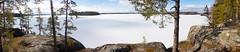 Landscape over Lake Kukkia (talaakso) Tags: finland ice järvi jää kallio kukkia lehmisaari lumi pirkanmaa snow terolaakso järvimaisema lakelandscape landscape landskap luopioinen panoraama panorama pälkäne rocks sjö talaakso fi