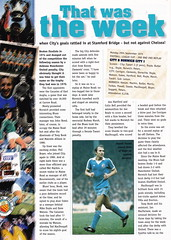 Manchester City vs Derby County - 1998 - Page 28 (The Sky Strikers) Tags: manchester city derby county worthington cup road to wembley maine official matchday magazine one pound eighty