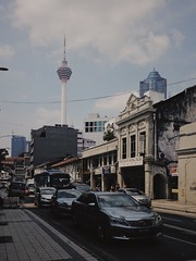 KL tower 1/3 Architecture Building Exterior Built Structure Communication City Sky Tall - High Tower Car Transportation Television Tower Mode Of Transport Land Vehicle Outdoors Travel Destinations Cloud - Sky Travel No People Day (adrian reza) Tags: architecture buildingexterior builtstructure communication city sky tallhigh tower car transportation televisiontower modeoftransport landvehicle outdoors traveldestinations cloudsky travel nopeople day