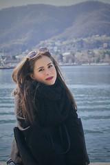 Portrait in Como (ilsiciliano_) Tags: portrait ritratto como lombardia girl girls day march 2017 canon 600d ragazza italy europe photo foto italiana mare lago
