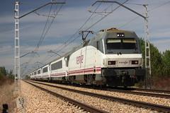 El Intercity Galicia - Euskadi (pedrolillas) Tags: renfe intercity gallego galicia euskadi arco sahagun