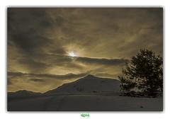 INFERNAL BEAUTY (régisa) Tags: elend aussois vanoise landscape snow neige paysage arbre tree sunset coucher soleil