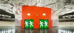 Exit (Walter Quirtmair) Tags: ifttt 500px subway sweden metro stockholm tunnelbana quirtmair