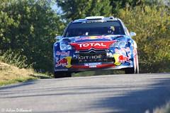 Sebastien Ogier / Julien Ingrassia (Julien Dillocourt) Tags: sebastien ogier julien ingrassia citroen ds3 wrc redbull total rally rallye france alsace 2011