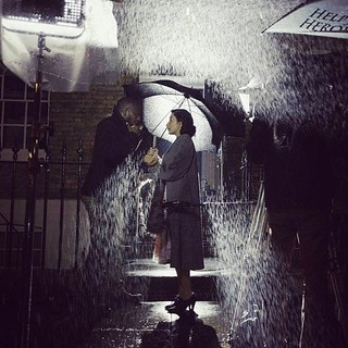 Filming Rain scene for #ASecretHeart  #FakeRain #production #film #ferynawazheir  #filmptoduction #ShortFilm #london #squareelephantproductions #producer