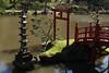Parc Oriental de Maulévrier, France (Tiphaine Rolland) Tags: parc park parcorientaldemaulévrier maulévrier japonais japanese japanesegarden jardinjaponais jardin garden france にわ 庭 green vert 緑 water eau みず 水 red rouge 赤い あかい pont bridge lanterne lantern