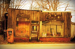Funks Country Store and Antiques (forestforthetress) Tags: color building architecture store letters text outdoor omot nikon rural funksgrove