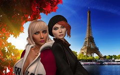 Janniund Marleen in Paris (oojannice29oo) Tags: paris eiffelturm