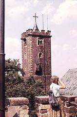 auf der Wartburg bei Eisenach 1959 (Knipser@) Tags: eisenach wartburg 1959 hawe ddr thüringen