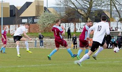 Ross Cameron is next to have a go as Bankies pile on the pressure (Stevie Doogan) Tags: clydebank cumbernauld utd mcbookiecom west scotland league superleague first division holm park saturday 15th april 2017 bankies scottish juniors