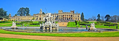 The Perseus and Andromeda fountain panorama. (GVG Imaging) Tags: witleycourt englishheritage nikond7000 nikkor1685vr