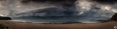 Storm at Turimetta Beach NSW (John_Armytage) Tags: storm stormcell rain clouds pano panoramic panorama nsw northernbeaches turimetta turimettabeach australia sonyrx100 sony sonyalpha